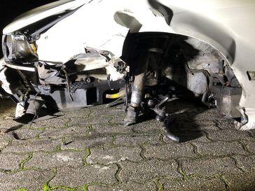Unfall Bild: Polizei