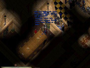 """Eine Spieleszene aus dem Online-RPG """"Ultima Online"""", Server Drachenfels aus dem Jahre 2010 mit dem wichtigsten Charakter überhaupt (Symbolbild)"""