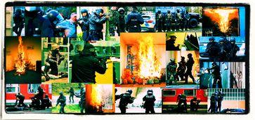 Wegen Corona drohen Politiker und bewaffnete Polizeikräfte mit Terror gegen die Zivilbevölkerung (Symbolbild)