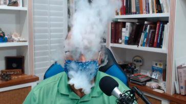 Schnelle Vorführung, wie Masken (nicht) helfen von Dr. Ted Noel