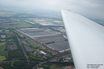 Volkswagen Werk Kassel in Baunatal