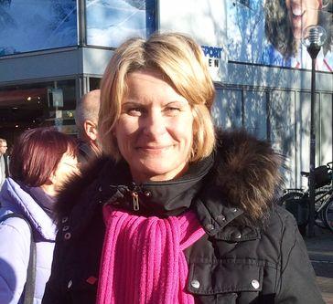 Susanne Gaschke im Kieler Oberbürgermeisterwahlkampf, 2012. Bild: Torrausch  - wikipedia.org