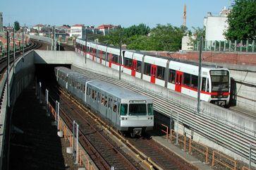 ÖPNV in Österreich (U-Bahn Wien)