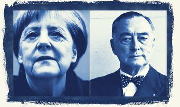 Angela Merkel und ihr Ideengeber Richard Graf Coudenhove-Kalergi