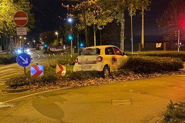 Verunfallte Auto Bild: Polizei