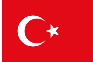Flagge von Türkei