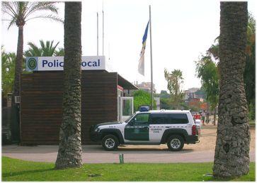 Einsatzwagen der Guardia Civil