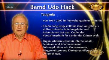 Bernd Udo Hack (2019)