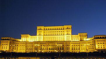 Der Parlamentspalast in Bukarest (Rumänien)