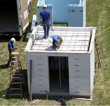 Construction of a safe room