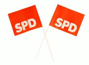 SPD Flaggen
