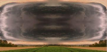 Starkregen, Gewitter und Unwetter (Symbolbild)