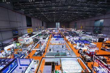 Ausstellungsbereich für Technologie und Ausrüstung auf Chinas Importexpo  Bild: CIIE Fotograf: CIIE