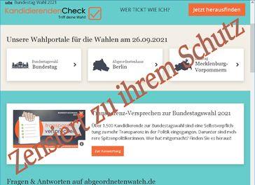 Abgeordnetenwatch zensiert Aussagen der AfD