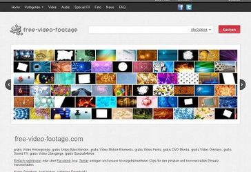 Screenshot Free-Video-Footage.com