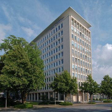 Gebäude der HSH Nordbank in Kiel