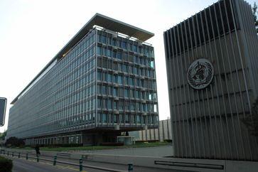 Zentrale der WHO in Genf