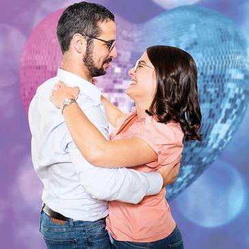 """""""Tanz mit mir"""" ist auch eine Art """"Ich liebe Dich"""" zu sagen  Bild: Europäische Stiftung Tanzen Fotograf: Fotoatelier Elena F. Barba"""