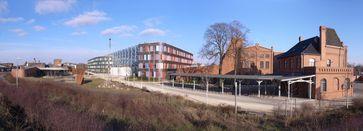Das Umweltbundesamt in Dessau-Roßlau, Aufnahme von 2011