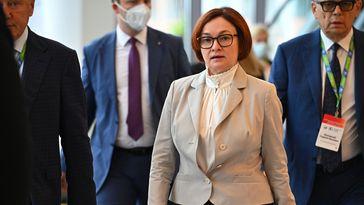 Die Chefin der russischen Zentralbank Elwira Nabiullina Bild: Sputnik  Ekaterina Lyslowa