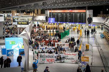Demo gegen Abschiebung (Symbolbild)