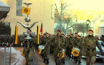Bundeswehrsoldaten an der Grenze von Russland (2017)