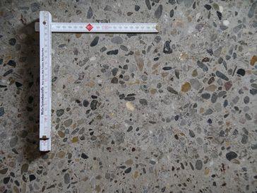 Querschnitt durch Beton