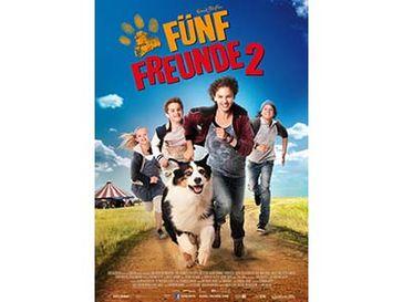 Kinoplakat von Fünf Freunde 2