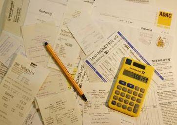 Buchhaltung, Steuererklärung & Abrechnung (Symbolbild)