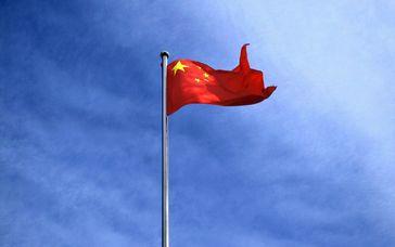 Chinas Flagge (Symbolbild)