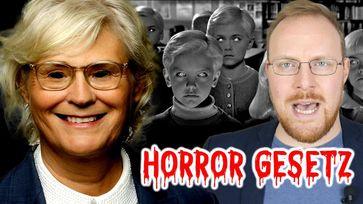 """Bild: Screenshot Bitchutevideo: """"Petition vs. Horrorgesetz: Sie wollen unsere Kinder!"""""""