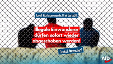 Gericht: Illegale Einwanderer dürfen sofort wieder abgeschoben werden