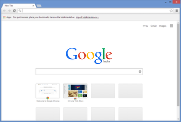 Screenshot von Google Chrome unter Windows 8.1