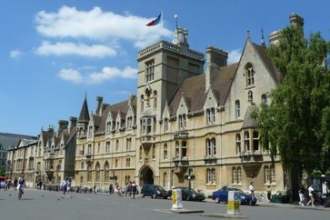 Balliol College, one of the university's oldest constituent colleges
