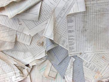 Papier, alt (Symbolbild)