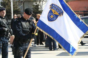 Flag of the Kosovo Police