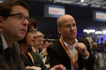 Brinkhaus auf dem CDU-Parteitag 2012