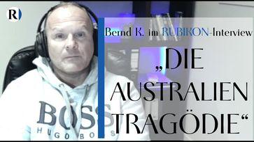 """Bild: SS Video: """"RUBIKON: Im Gespräch: """"Die Australien-Tragödie"""" (Bernd K. und Flavio von Witzleben)"""" (https://youtu.be/hsMqD6vSPo4) / Eigenes Werk"""