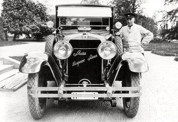 Der SKODA Hispano-Suiza für Präsident Masaryk Bild: SMB Fotograf: Skoda Auto Deutschland GmbH