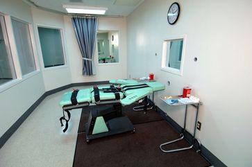 Todesstrafe: Der Raum für die letale Injektion im San Quentin State Prison