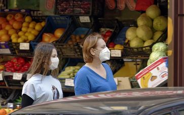 maske tragen