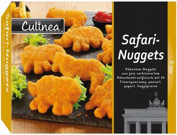 """Der Hersteller Gebr. Stolle GmbH informiert über einen Warenrückruf des Produktes """"Culinea Safari-Nuggets, tiefgefroren, 400g """". Bild: """"obs/LIDL/Lidl"""""""