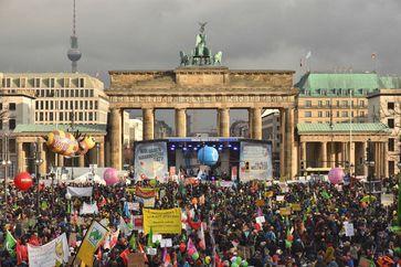 Essen ist politisch! Demonstration am 20.01.2018: Über 33.000 Menschen waren vorort.