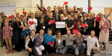 Die Gemeinschaft und Unterstützer des Königreich Deutschland.