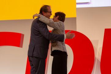 Alexander Dobrindt und Annegret Kramp-Karrenbauer (2018)