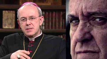 Bischof Athanasius Schneider und Papst Franziskus (Jorge Mario Bergoglio SJ)