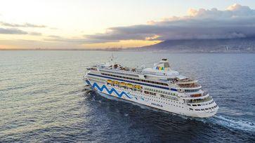 "Erstanlauf AIDAaura in Kapstadt / Bild: ""obs/AIDA Cruises"""