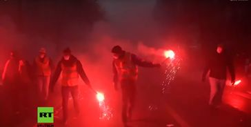 Generalstreik in Paris am 05.12.2019