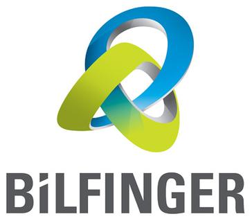 Logo von Bilfinger seit Herbst 2012