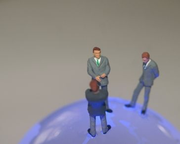 Geschäftsmann & Geschäftsmänner (Symbolbild)